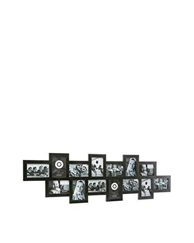 Mimma Portafotos 14 Ventanas Negro