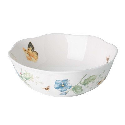 Butterfly Meadow All Purpose Bowl [Set of 3] (Lenox Rice Bowl Set compare prices)