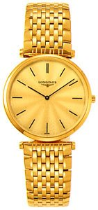 Longines La Grande Classique 18kt Gold-plated Mens Watch L47092428