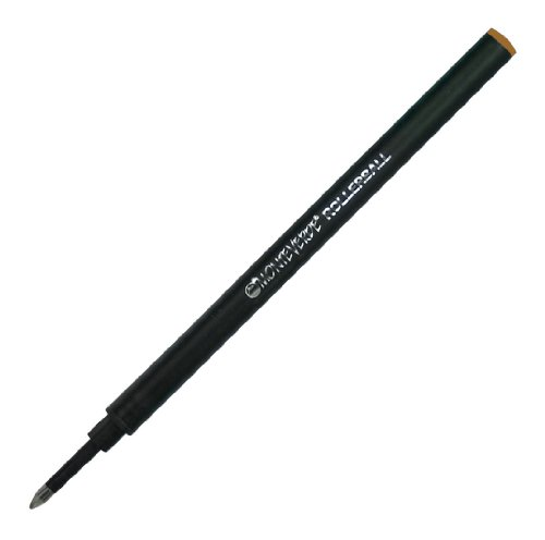 Monteverde Recharge pour stylo roller en céramique avec capuchon Marron (G233BN Lot de 6)