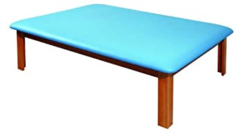 3B Scientific Eucalyptus Wood Mat Platform Table