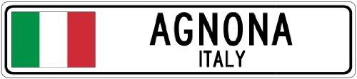 agnona-italy-italy-flag-city-sign-9x36-quality-aluminum-sign