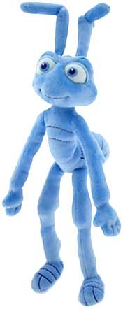 "Bugs Life Flik - 8"" Disney Mini Bean Bag Plush"
