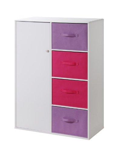 Pink Storage Cabinets ~ Kidsfu shop for kids furniture online