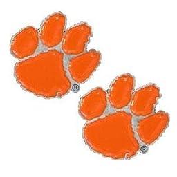 NCAA Clemson Tigers Stud Earrings