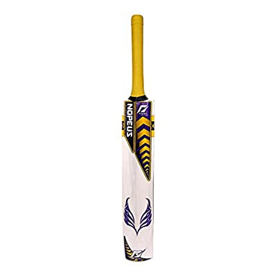Nopeus CHOPPER (Purple Yellow) Popular Willow Cricket Bat, Size Full