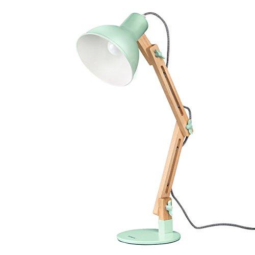 Tomons leselampe im klassichen holz design for Skandinavische lampen klassiker