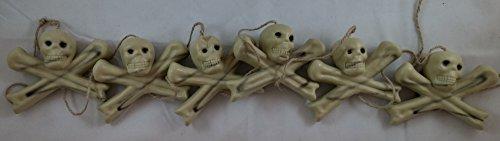 "Skeleton Garland 72"" Happy Halloween - 1"