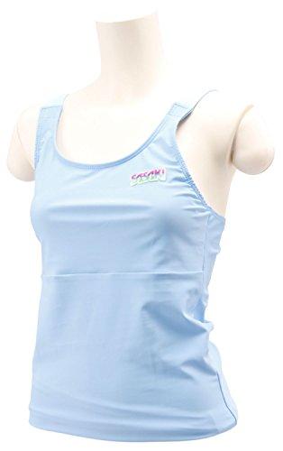 Sasaki (SASAKI) V strapless tops STN-70009 pale blue / aqua blue JO