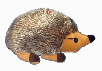 Great China Colossal Hedgehog Plush Dog Chew Toy