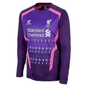 Liverpool Kids Away Long Sleeve Goalkeeper Shirt 2013-14 from Warrior