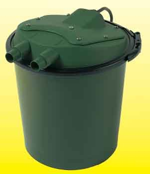 Pressurized Uv+bio Pond Filter 5watt (ponds To 500gal) (Catalog Category: Aquarium / Pond Liners Filters)