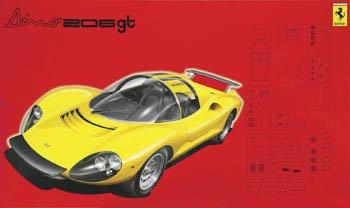 1/24 リアルスポーツカーシリーズ RS76 フェラーリDino206