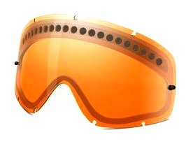 Oakley O-FrameMX Dual Vented Replacement Lens (Persimmon, One Size) (Oakley Frame Replacement compare prices)