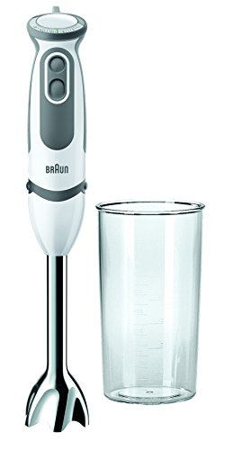 Braun MQ5000 Hand Blender, 750 W, White/Grey