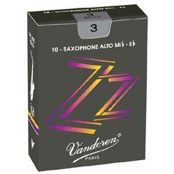 Vandoren ZZ Alto Saxophone Reeds #2.5, Box of