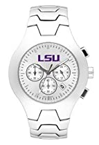 LSU Fighting Tigers Hall Of Fame Sterling Silver Watch