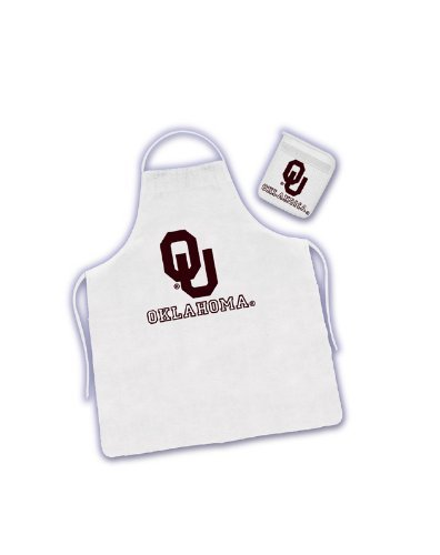 Oklahoma State Tailgate Apron and Mitt Set
