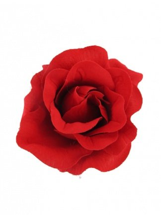 pretty-cool-red-rose-fabric-hair-flower-clip