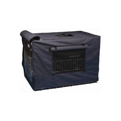 "Indoor/Outdoor Crate Covers Navy 19"" X 12"" X 14"" front-1057336"