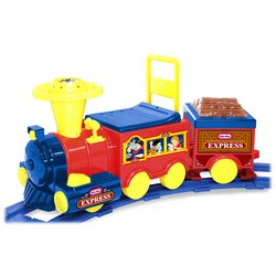 Buy Little Tikes Battery Operated Talking Train with Track