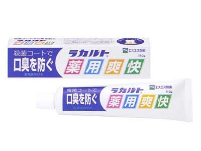 ラカルト薬用爽快 110g