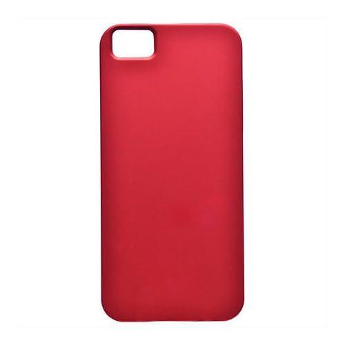 Kenko iPhone5用 ラバーコーティングケース レッド KT-IP5RC/R