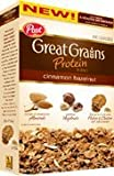 Post, Great Grains, Protein Blend, Cinnamon Hazelnut, 14.75oz Box (Pack of 4)