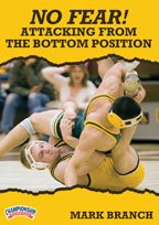 Buy Mark Branch: No Fear! Attacking from the Bottom Position (DVD) by Championship Productions
