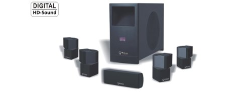 (video review) mclaren mt-7 6pc  home theater system