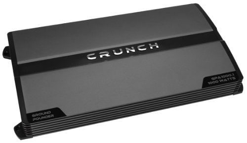 Crunch Gpa1000.1 Ground Pounder Amplifier