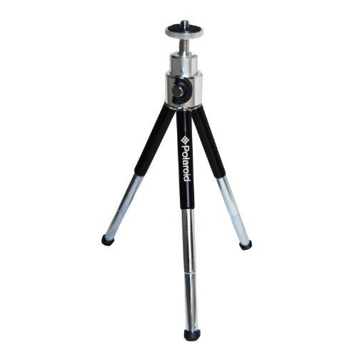 Mini trépied robuste 20 cm avec tête panoramique et basculable de Polaroid pour reflex et caméscopes numériques