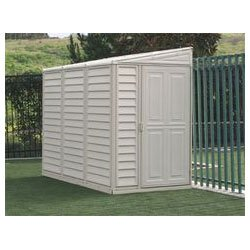 DuraMax 00614, 4′ x 8′ Stronglasting SideMate Vinyl Storage Shed With Foundation Kit (00614-DM) Category: Duramax Vinyl Sheds