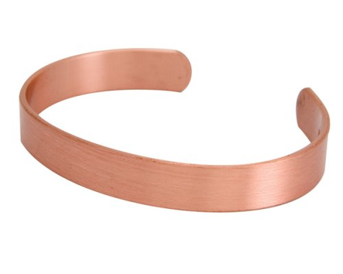 Apex Copper Bracelet, Solid Band