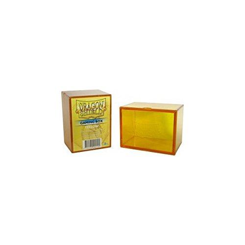 Card Gaming Box, Yellow
