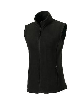Fleece-Weste, Farbe:Black;Größe:XS