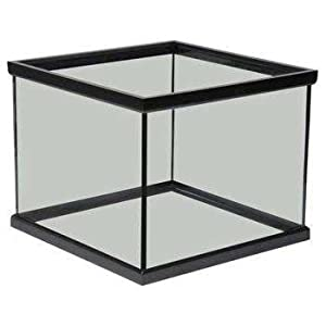 Perfecto Manufacturing APF12268 Aquarium Tank, 24 by 24 by 18-Inch, Black