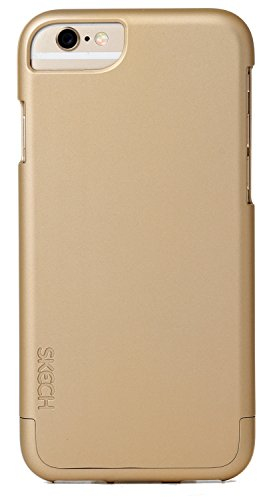 Skech Hard Rubber Two-Piece Hard Shell Protection & Slim Case For IPhone 6 (4.7) - Golden