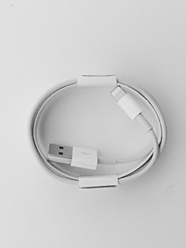 Apple - Cavo USB Lightning per sincronizzazione dati e caricabatterie per Apple iPhone 5 5S 6 6 Plus/6S, 6S Plus & iPad iPod ***articolo originale confezionato al dettaglio ***
