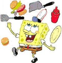 Spongebob Squarepants - Krusty Krab - LARGE Peel & Stick - 41 Wall Stickers