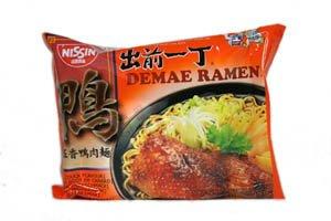 Nissin Demae Ramen japonais soupe de nouilles, de canard Flavour - 100g