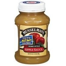 Musselman's Original Applesauce 24 oz (Pack of 12) (Lite Apple Sauce compare prices)