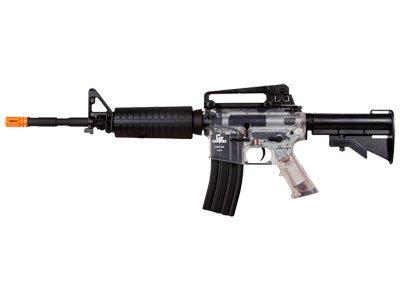 Gameface 14A4 Aeg, Clear & Black Airsoft Gun