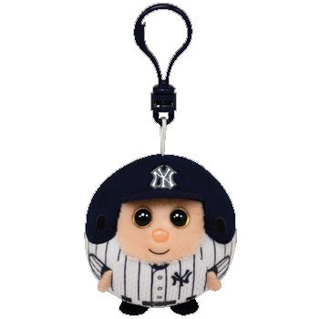 Ty MLB Beanie Ballz New York Yankees - Clip