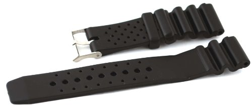 Leather Watch Straps Diver Watch Replacement Strap Band - Fit Lug Width - 22mm