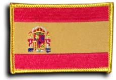 Spain - Country Rectangular Patches - Buy Spain - Country Rectangular Patches - Purchase Spain - Country Rectangular Patches (Flagline.com, Home & Garden,Categories,Patio Lawn & Garden,Outdoor Decor,Banners & Flags)
