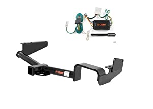 Curt 13534-56034 Trailer Hitch and Wiring Package