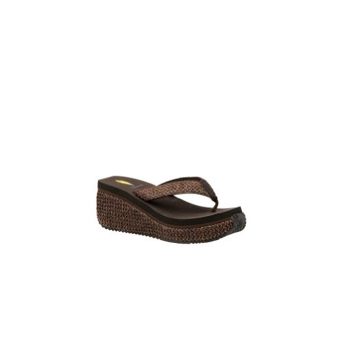 Volatile Women'S Island Sandal,Brown,10 front-562833