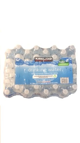 Kirkland Signature Purified Drinking Water, 40 Count (Drinking Water Cases compare prices)