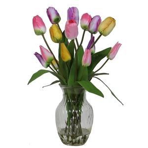 Floral Tulips In Vase